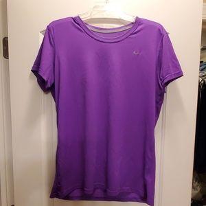 Nike Dri-Fit Purple Tee Tshirt. Regular fit. XL